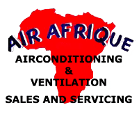 Airconditioning installation, Ventilation systems Gauteng - Air Afrique